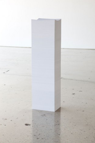 Ceal Floyer, Page 8680 of 8680, 2011, 303 Gallery