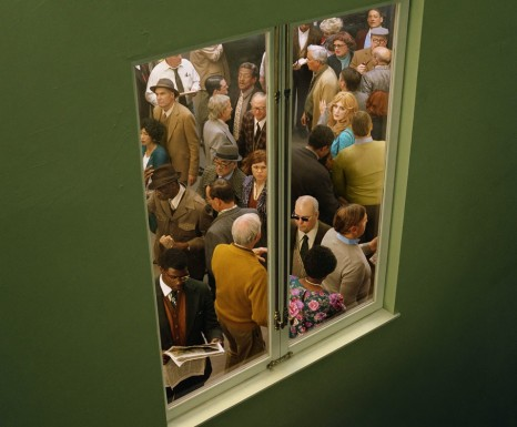 Alex Prager, Crowd #5 (Washington Square West), 2013, Lehmann Maupin