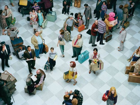 Alex Prager, Crowd #7 (Bob Hope Airport), 2013, Lehmann Maupin