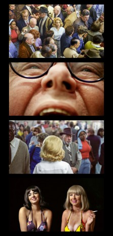 Alex Prager, Face in the Crowd Film Strip #1, 2013, Lehmann Maupin