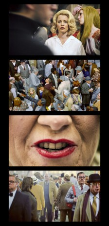 Alex Prager, Face in the Crowd Film Strip #2, 2013, Lehmann Maupin
