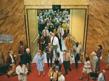 Alex Prager, Crowd #8 (City Hall), 2013, Lehmann Maupin