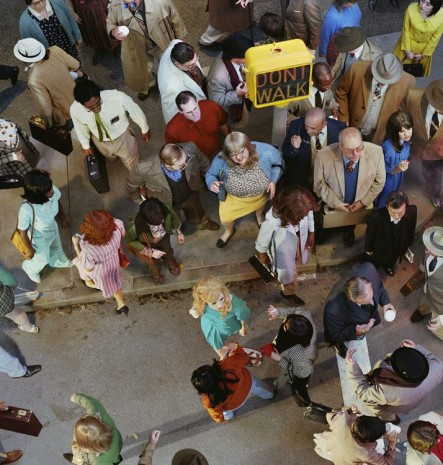 Alex Prager, Crowd #11 (Cedar and Broad Street), 2013, Lehmann Maupin