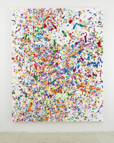 Dan Colen, Between Here and Eternity, 2013, MASSIMODECARLO