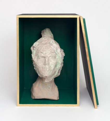 Liz Glynn, Ming Dynasty Bust from the Flor do Mar (Wrecked and Recovered, Trinidad), 2013, Paula Cooper Gallery