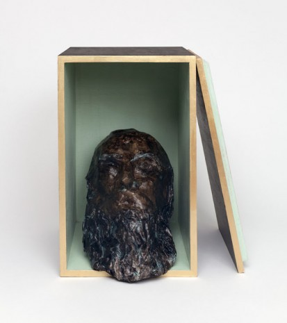 Liz Glynn, Porticello Bust I, Unknown Old Man (Wrecked and Recovered, Calabria),, 2013, Paula Cooper Gallery