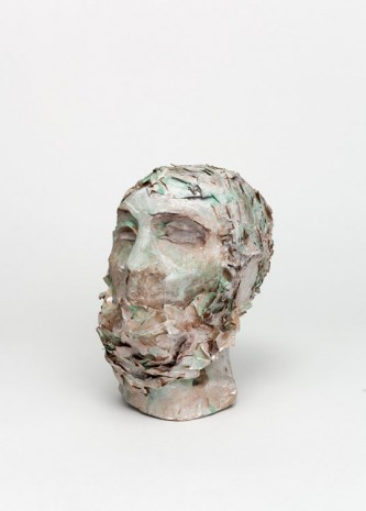 Liz Glynn, Porticello Bust II, Unknown Hero (Wrecked, Looted, and Confiscated, Calabria), 2013, Paula Cooper Gallery