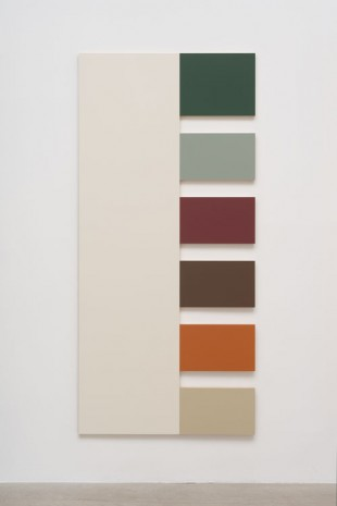 Morgan Fisher, 1 (White, Crylight Green, Sky Blue, Red, Leather Brown, Terra Cotta, Silver Gray), 2013, China Art Objects Galleries