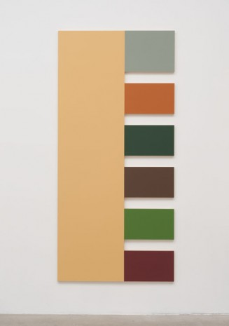 Morgan Fisher, 2 (Old Ivory, Sky Blue, Terra Cotta, Crylight Green, Leather Brown, Vert Green, Red), 2013, China Art Objects Galleries