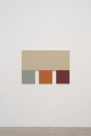 Morgan Fisher, 4 (Silver Gray, Sky Blue, Terra Cotta, Red), 2013, China Art Objects Galleries