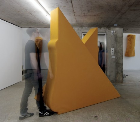 Franz Erhard Walther, Body Shapes YELLOW, 2012, KOW