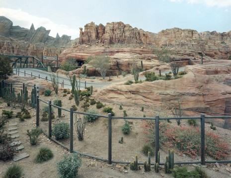 Thomas Struth, Canyon, Anaheim, California, 2013, Marian Goodman Gallery