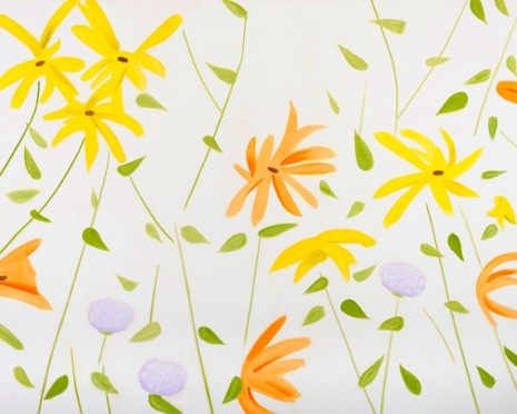 Alex Katz, Flowers 2, 2010, Gavin Brown's enterprise