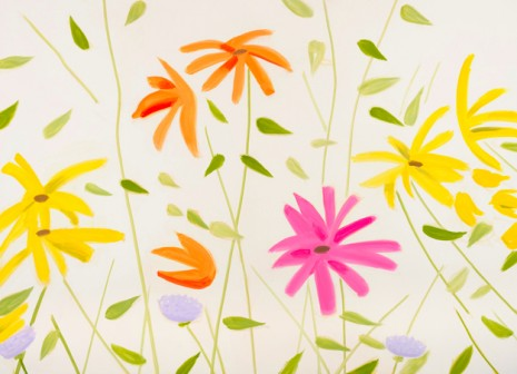 Alex Katz, Wildflowers, 2010, Gavin Brown's enterprise