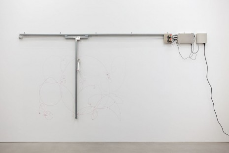 Angela Bulloch, Elliptical Song Drawing Machine, 2014, Esther Schipper
