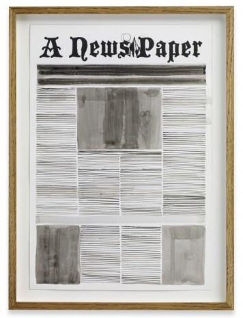 Alexandre Singh, Front Page, 2013, Sprüth Magers