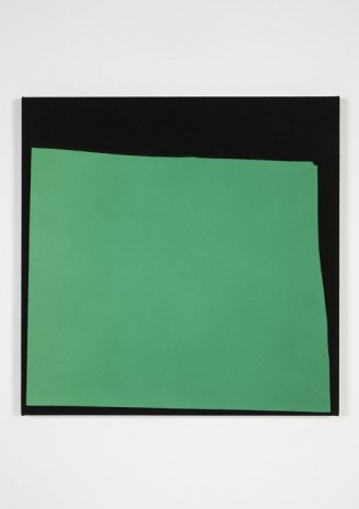 Kim Fisher, Magazine Painting (Bright Green Fade), 2014, The Modern Institute