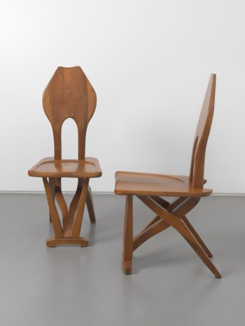 Carlo Mollino, A Pair of Organic Side Chairs, 1948-1949, Max Wigram Gallery (closed)