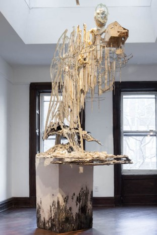 Diana Al-Hadid, Head in the Clouds, 2014, Marianne Boesky Gallery