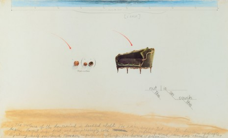 Candy Jernigan, The nut is on the couch, 1989, Greene Naftali