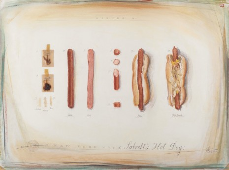 Candy Jernigan, THE NEW YORK COLLECTIONS, Sabrett's Hot Dog, September 16, 1985, Greene Naftali
