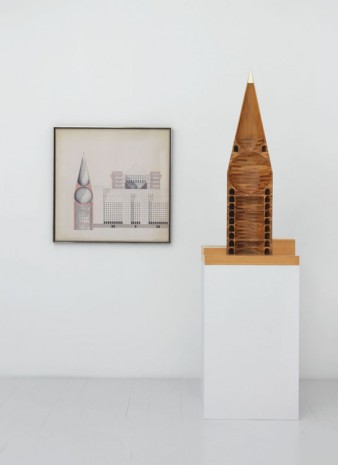 Aldo Rossi, Tower With Glass Top, 1999, Johnen Galerie