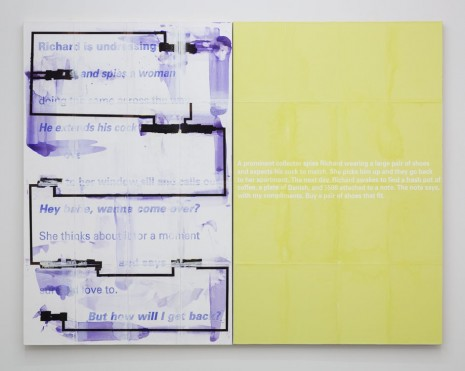 Donelle Woolford, Double Letdown, 2012, WALLSPACE (closed)