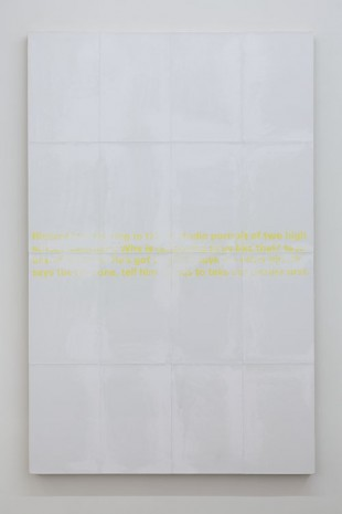 Donelle Woolford, Joke Painting (Focus), 2013, WALLSPACE (closed)