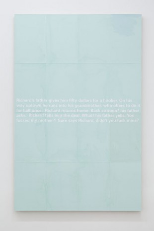 Donelle Woolford, Joke Painting (Oedipus), 2012, WALLSPACE (closed)