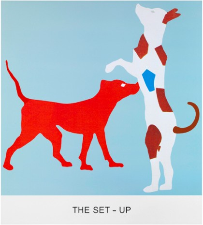 John Baldessari, Double feature: The Set-Up, 2011, Sprüth Magers