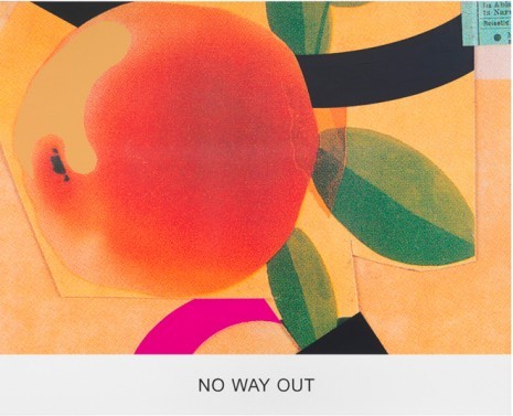 John Baldessari, Double feature: No Way Out, 2011, Sprüth Magers