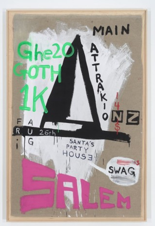 Spencer Sweeney, SALEM GHE2O G0THIK Party Painting, 2011, The Modern Institute