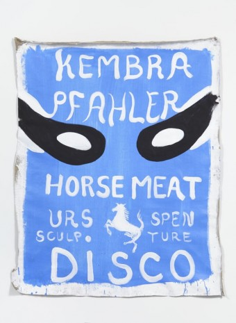 Spencer Sweeney, Kembra Horse Meat Party Painting, 2012, The Modern Institute