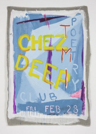 Spencer Sweeney, CHEZ Deep Party Painting, 2014, The Modern Institute