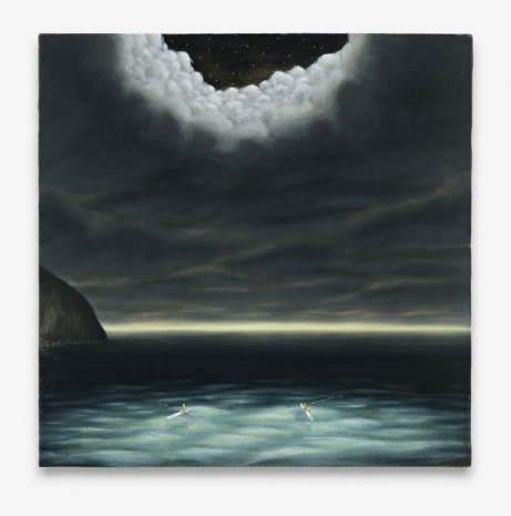Dan Attoe, Surfers In Moonlight 2, 2013, Peres Projects