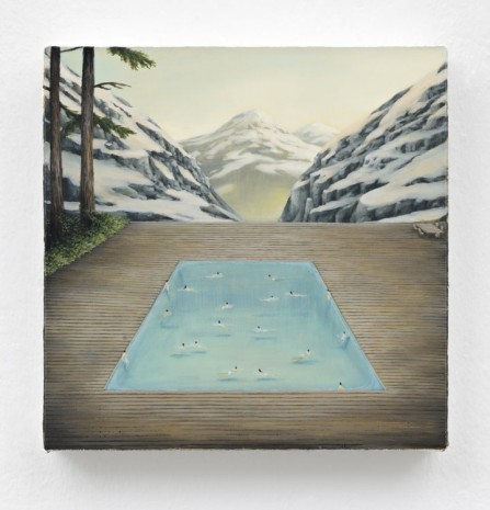 Dan Attoe, Mountain Swimming Pool, 2013, Peres Projects