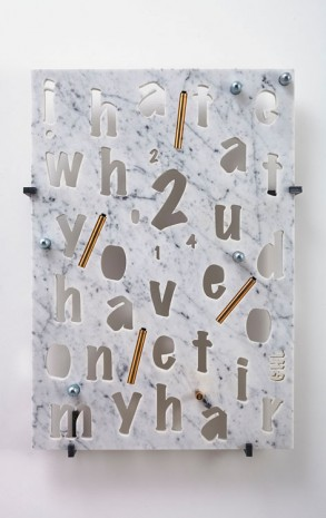 George Henry Longly, 2 i hate what you have done to my hair, 2014, Jonathan Viner (closed)