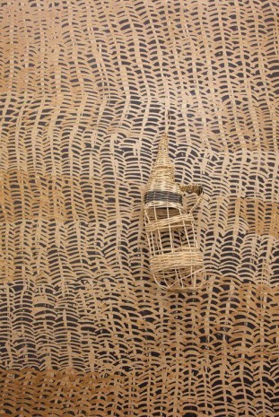 Kasia Fudakowski, 2 quarters Kimono, half Wicker, (from my mothers side) (detail), 2014, ChertLüdde