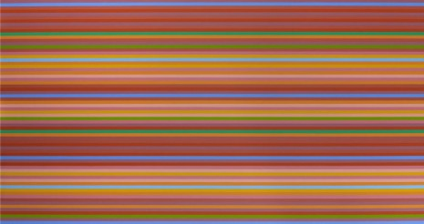 Bridget Riley, Rose Light, 2013, Galerie Max Hetzler