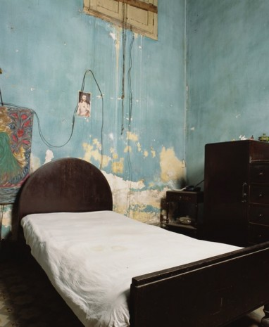 Andres Serrano, Bedroom with Jesus, 2012, Galerie Nathalie Obadia