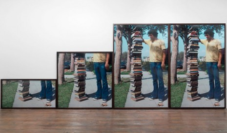 Allen Ruppersberg, Guess how many books it takes to get from here to there, 2014, 2014, greengrassi
