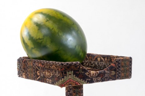 Friedrich Kunath, Meloncholy Tower (#7)(detail), 2014, Andrea Rosen Gallery (closed)