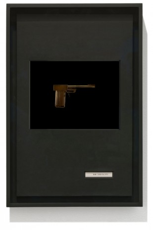 "Taryn Simon, ""B.20 Golden Gun, 1974"", Birds of the West Indies, 2013, Gagosian"
