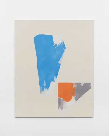 Peter Joseph, Blue, Orange and Dark Violet, 2013, Lisson Gallery