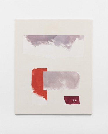 Peter Joseph, Dull Lilac with Red, 2013, Lisson Gallery