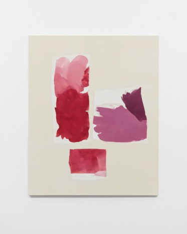 Peter Joseph, Cademium Red with alizarin, 2013, Lisson Gallery