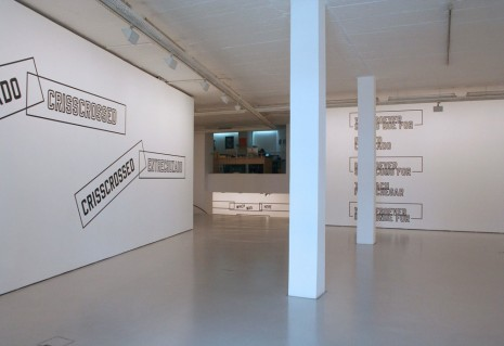 Lawrence Weiner Cristina Guerra Contemporary Art