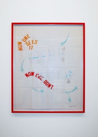 Lawrence Weiner, UNTITLED, 2014, Cristina Guerra Contemporary Art