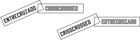 Lawrence Weiner, CRISSCROSSED, 2014, Cristina Guerra Contemporary Art