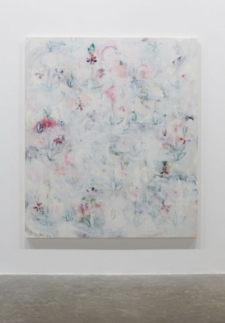 Kamrooz Aram, Revisions for a New Garden (Palimpsest #15), 2013, Green Art Gallery